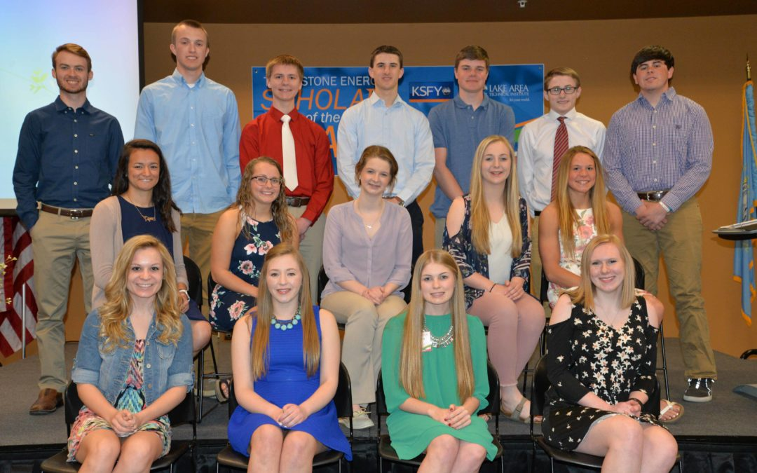 Scholar of the Year Banquet Held in Watertown