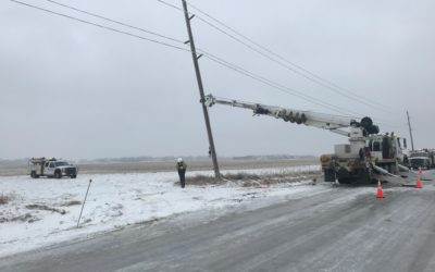 East River Electric Power Cooperative Restores Power to 22 Substations, 5 Substations Still Without Power