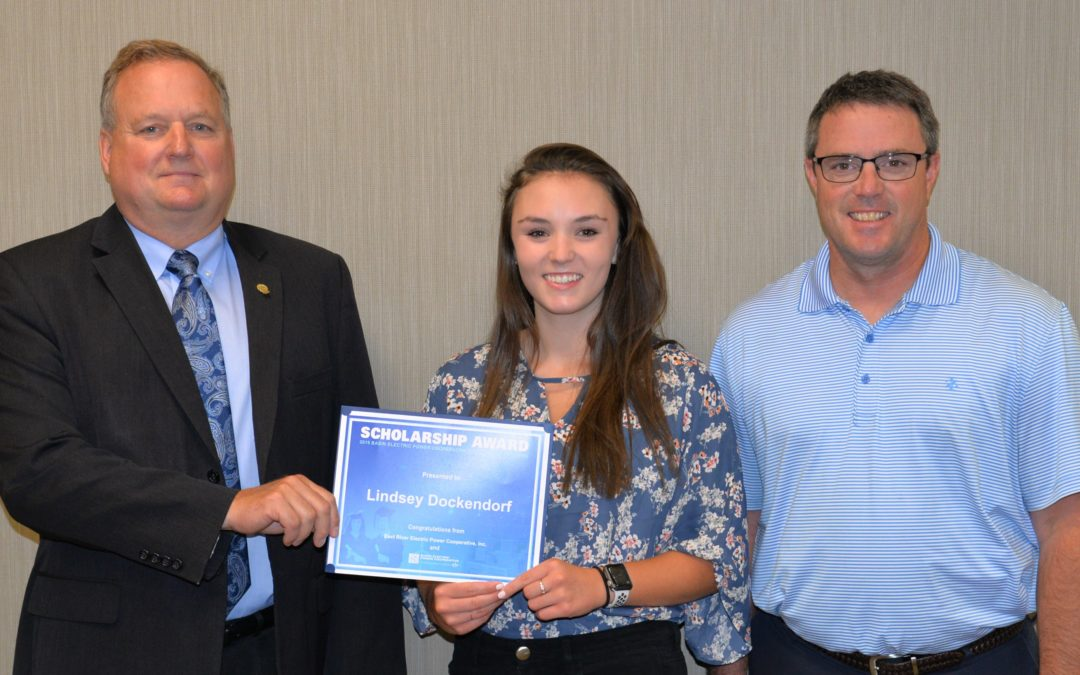 Madison's Lindsey Dockendorf Receives $1,000 Basin Electric Scholarship