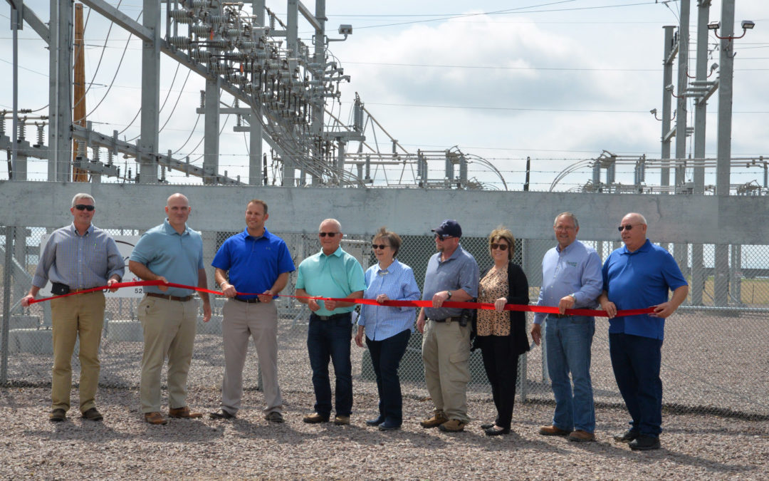 Ribbon Cutting Ceremony Held for Onida Substation