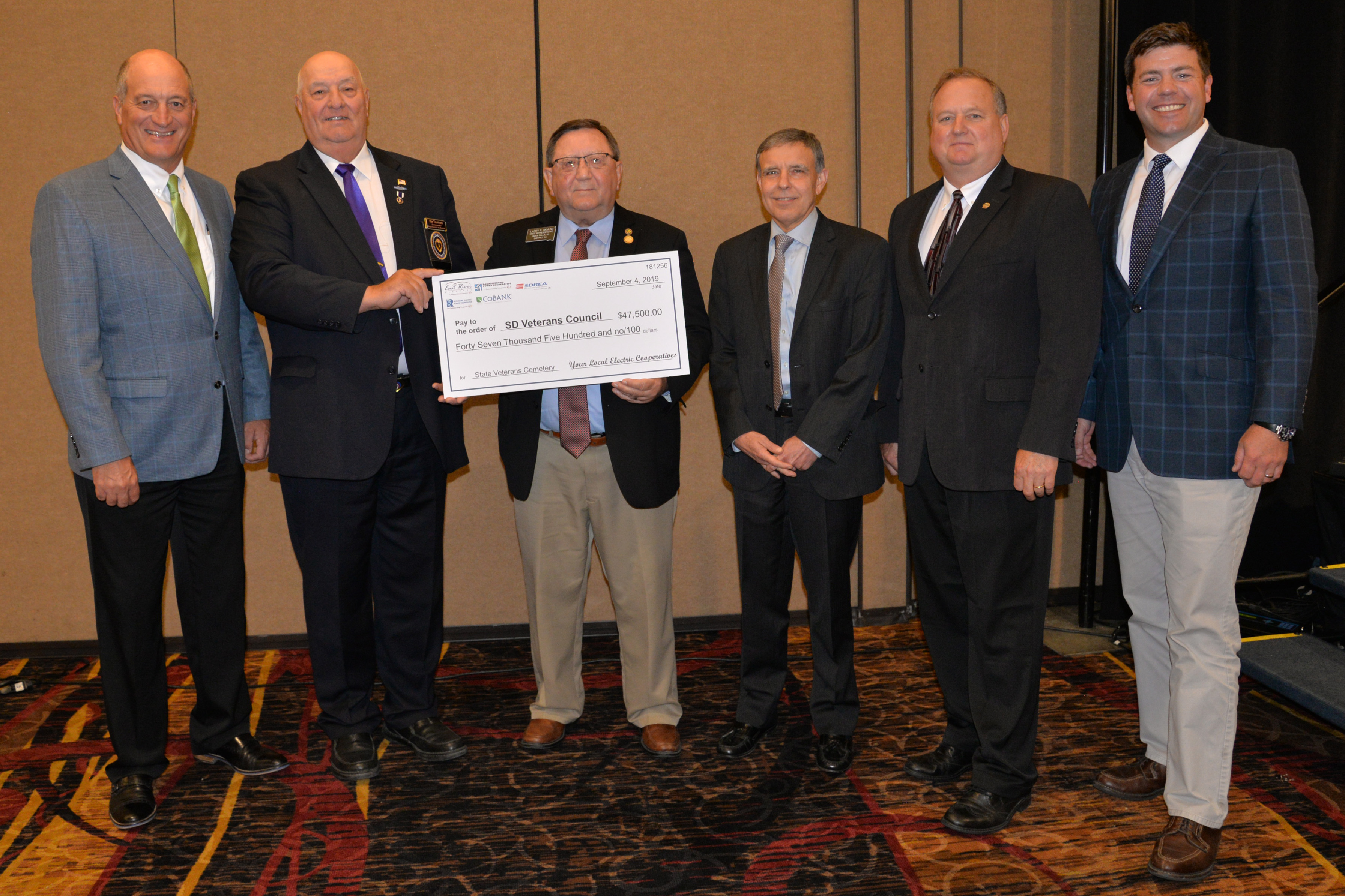 Electric Cooperatives and CoBank Donate ,500 to State ...