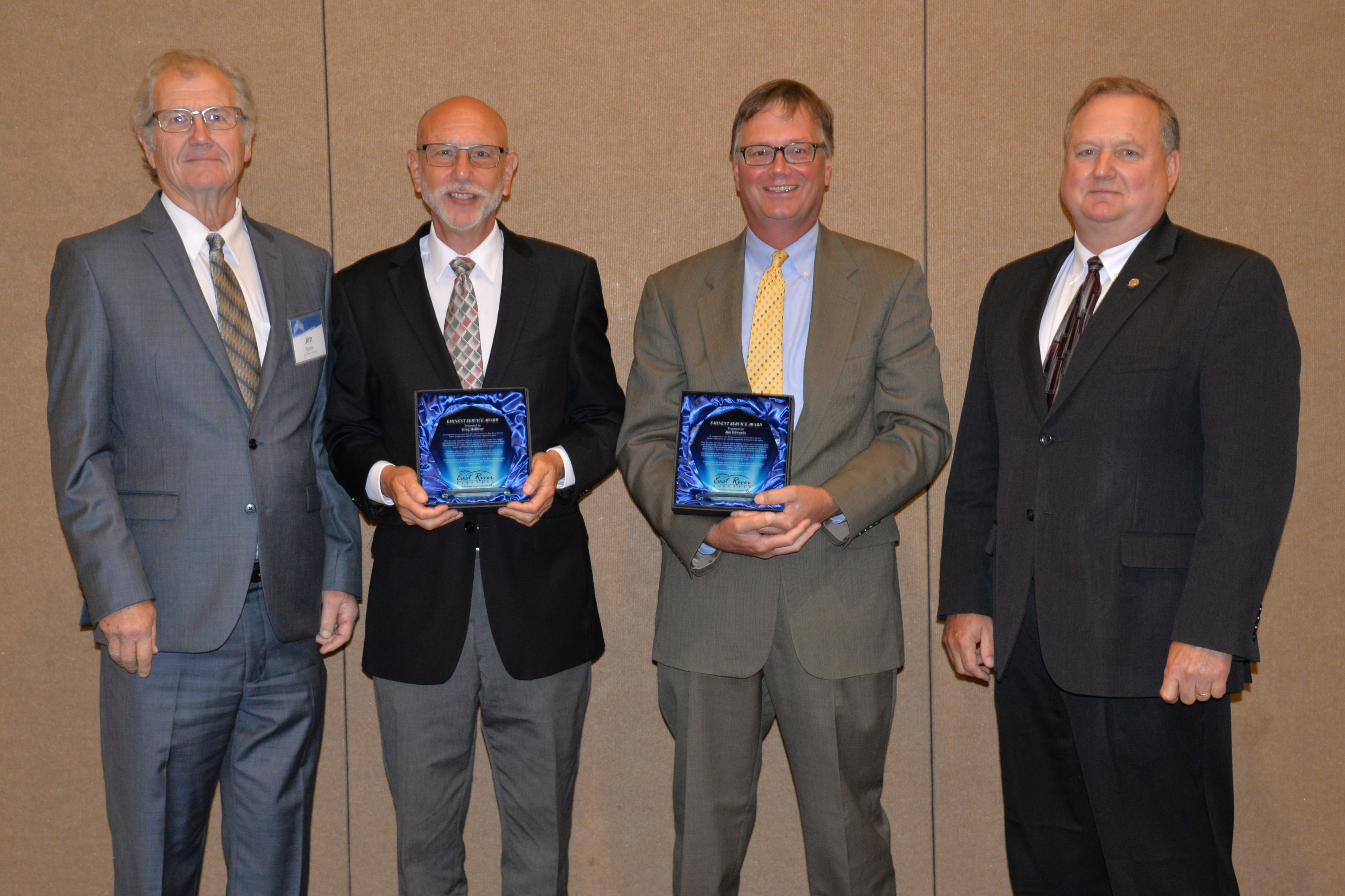 Eminent Service Award Winners Announced   East River Electric