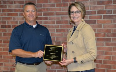 Avery Receives Distinguished Service Award