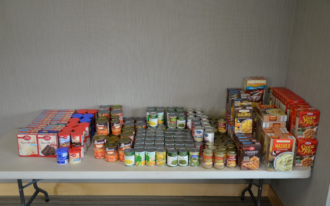 Thanksgiving Food Drive a Success!